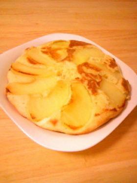 りんごのかんたんケーキ