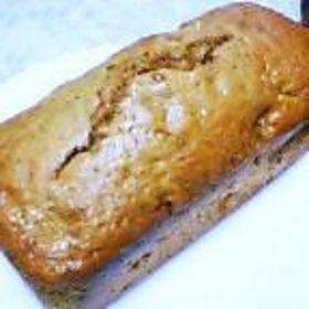 黒糖バナナパウンドケーキ