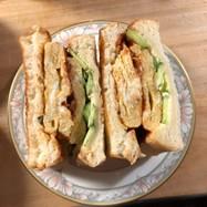 名古屋の卵焼きサンドイッチ
