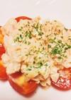 ツナ&玉ねぎ☆トマトサラダ