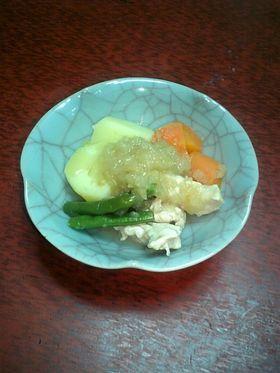 鶏胸肉とお野菜のあっさり煮