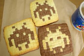 ピコピコ♪インベーダークッキー