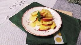 りんごとサツマイモのシナモン煮