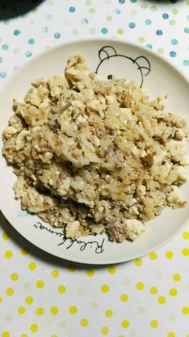 1歳児も食べれる麻婆豆腐