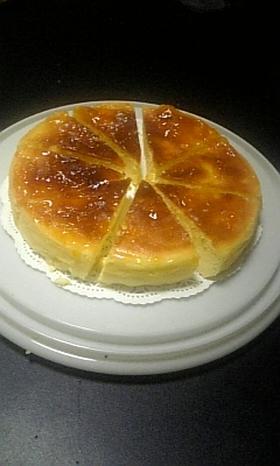 しっとり♪ふわふわ♪スフレチーズケーキ