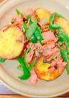 秋鮭と野菜のみそバター焼き