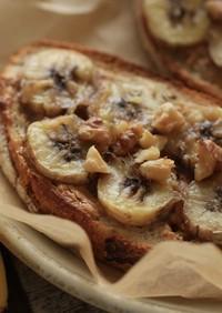 ピーナッツ「バナナトースト」