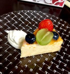 しっとり濃厚♪ふわふわスフレチーズケーキ