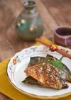 塩サバの味噌マヨ照り焼き