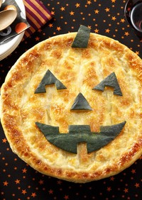 かぼちゃおばけのパイグラタン