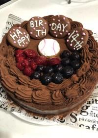 ☆BIRTHDAY生チョコケーキ☆