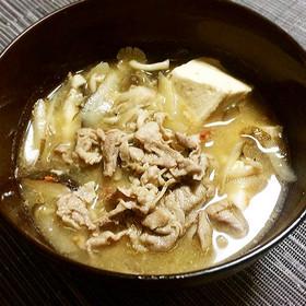 食べるスープ♪「ご馳走豚汁」