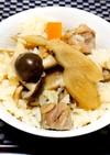 美味しいよ~♪鶏ごぼうの炊き込みご飯❤