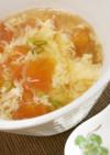 トマトのかき玉スープ♪めっけ