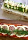 パーティに!カラフル押し寿司