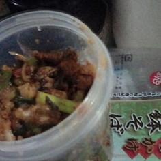 カレー炒め蕎麦