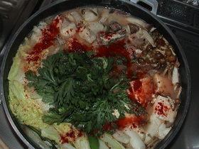 韓国風 あんこう鍋