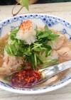 ポリ袋で湯煎する『鶏もものみぞれ煮』