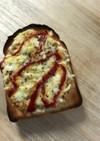 我が家の納豆トースト