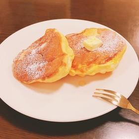 幸せのパンケーキ風!HMで簡単パンケーキ
