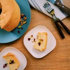 シンプル簡単米粉のシフォンケーキ