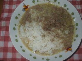 いんげんとひき肉のタイ風カレー