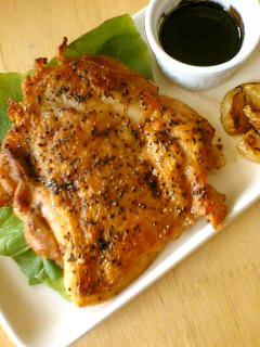 鶏のディアボラ風♥