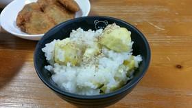 炊飯器で簡単!!餅米入りモチモチ栗ご飯