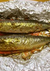 魚焼きグリルで「いわし明太」を焼くコツ♪