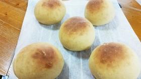 HB使用 モッチリ黒糖きな粉丸パン