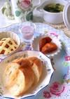 明太フランスパン 低糖質 朝食