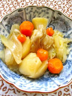 ●じゃが芋・人参・舞茸・玉ねぎ達の煮物●