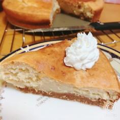 HMで作るシナモン香る、きなこケーキ!