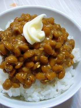 焼き肉風味の納豆:レオン亭