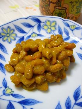 カレー味納豆:レオン亭