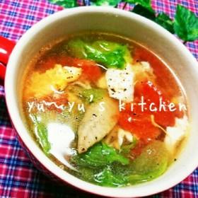 美肌✧天然コラーゲン手羽先スープ♡
