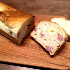 HMでウインナーとチーズのパン
