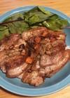 豚ばらペペロンチーノ丼