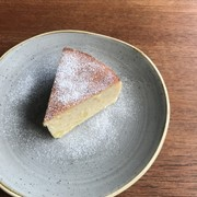 さつまいもチーズケーキの写真