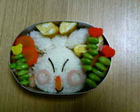 マクノシタ弁当 (ポケモンキャラ弁)