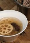 秋の台湾美肌スープ【レンコン棗鶏スープ】