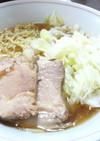 酢キャベツ&煮豚チャーシュのラーメン