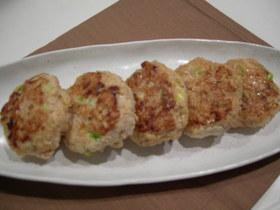 ふんわりヘルシー☆豆腐たっぷり鶏つくね
