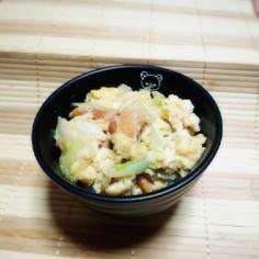 【時短】帰宅10分!麺つゆで親子丼