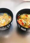 子供用春雨スープと大人用(辛)春雨スープ