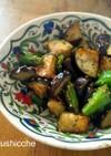 ヘルシー副菜♡シシトウと茄子の炒め物