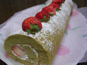 春のふんわり♪ロールケーキ