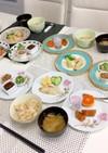 笹かまぼこ 枝豆豆腐の湯葉巻き 朝食