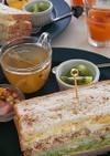 朝食に♪簡単美肌なサンドイッチ