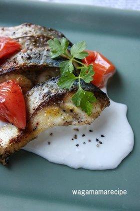 鯖のカレー粉、マヨネーズ焼き